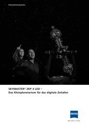 SKYMASTER® ZKP 4 LED - Zeiss Planetariums