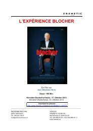 L'EXPÉRIENCE BLOCHER - Frenetic Films
