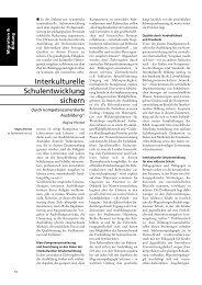 Interkulturelle Schulentwicklung sichern - GEW Bremen