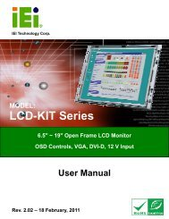 LCD-KIT Series - iEi