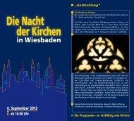 Nacht der Kirchen Wiesbaden - Marktkirche