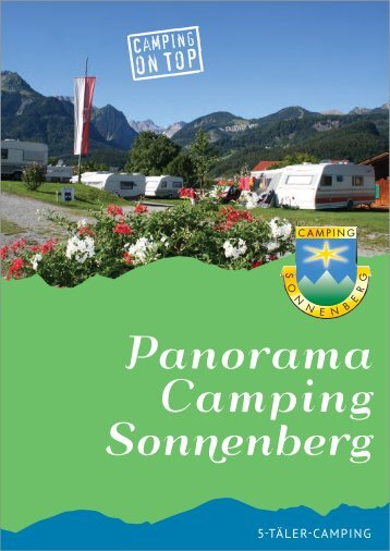 Download Prospekt (PDF) - Camping Sonnenberg in Vorarlberg