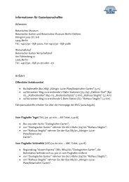 Informationen als Pdf-Datei herunterladen... - Botanischer Garten ...