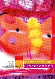 Jahresbericht 2012 - Mädchentreff Nürnberg