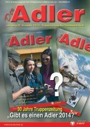 """""""Gibt es einen Adler 2014?"""" - Österreichs Bundesheer"""