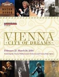 Vienna Bifold.indd - Carnegie Hall