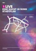 EINE NaCHT IN Bonn Stadtplan - 1Live - Seite 2