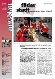 Amtsblatt KW 13 - Stadt Filderstadt