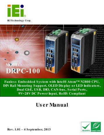 User manual - ICPDAS-EUROPE