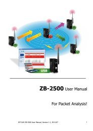 ZB-2500 User Manual For Packet Analysis!