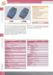 Datasheet - ICPDAS-EUROPE