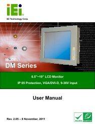 DM Series Monitor - iEi