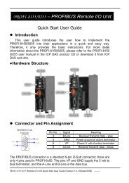profi-8155.8255 quick start(en).pdf - ICP DAS