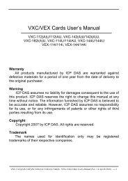 User manual - ICPDAS-EUROPE
