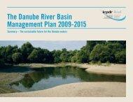The Danube River Basin Management Plan 2009-2015 - ICPDR