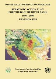 Strategic Action Plan for the Danube River Basin 1995 - ICPDR
