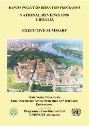 NATIONAL REVIEWS 1998 CROATIA EXECUTIVE ... - ICPDR
