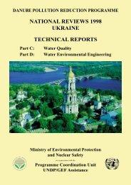 Technical Reports Parts C,D - ICPDR