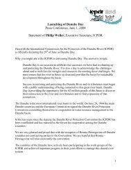 Danube Day Statement of Philip Weller.pdf - ICPDR
