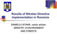 Ministry of Environment and Forests Romania - ICPDR
