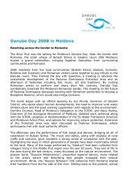 Danube Day 2008 in Moldova - ICPDR