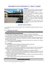 """regolamento scuola secondaria di 1° grado """"g. mameli"""" - Istituto ..."""