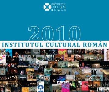 2010 - Institutul Cultural Român