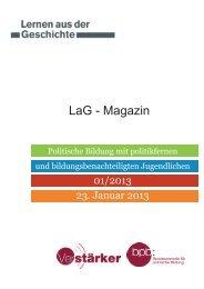 LaG - Magazin - Bundeszentrale für politische Bildung