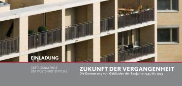 Einladung und Programm - Architektenkammer Nordrhein-Westfalen
