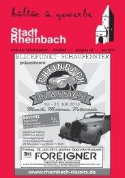 Juli 2013 - Stadt Rheinbach