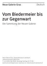 Begleitheft zur Dauerausstellung deutsch - Universalmuseum ...