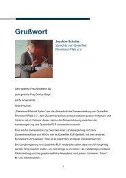 Grußwort von Joachim Schulte - Ministerium für Integration, Familie ...