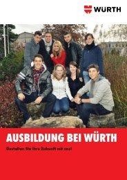 AUSBILDUNG BEI WÃœRTH - Wuerth AG