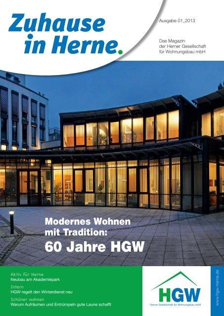 Mietermagazin - Herner Gesellschaft für Wohnungsbau mbH
