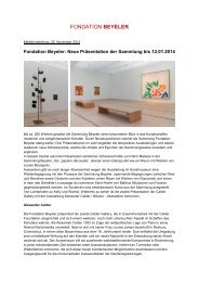 Download PDF (200 KB) - Fondation Beyeler