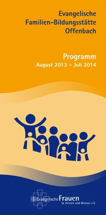Programm der Evangelischen Familien-Bildungsstaette Offenbach