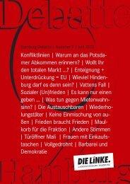 Ein Maulkorb für die Fraktion - DIE LINKE. Landesverband Hamburg