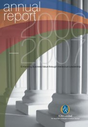 Annual Report 2006-07 - ICRA