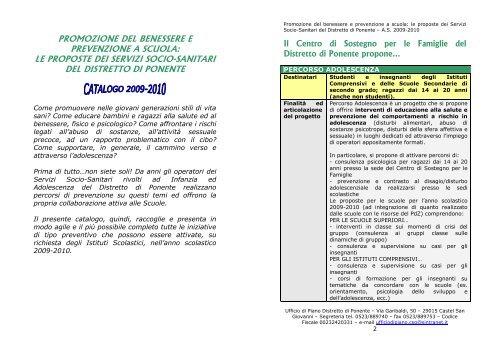 Promozione Del Benessere E Prevenzione A Scuola Icri Go It