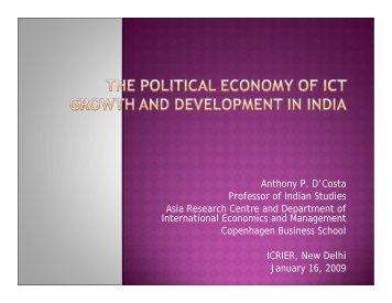 Download presentation - icrier