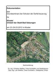 Dokumentation der Gemeinde Kloster (24.03.2012) (pdf / 2752 Kb)