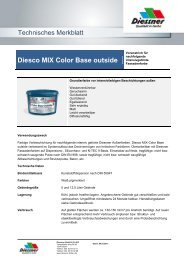 Diesco MIX Color Base outside - Diessner