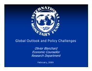 Global Outlook and Policy Challenges - icrier
