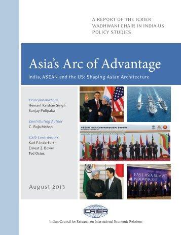 Asia's Arc of Advantage - icrier