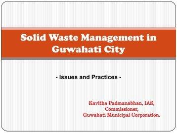 Solid Waste Management in Guwahati City - icrier