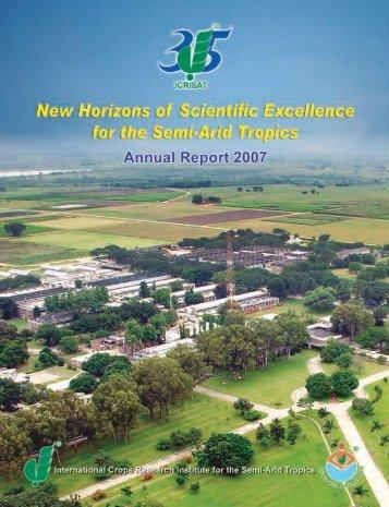 Annual Report 2007.pdf - icrisat