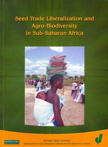 Harmonization of Seed Laws and Regulations in Southern ... - icrisat