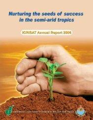 Annual Report 2006 - Icrisat