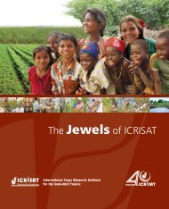 The Jewels of ICRISAT