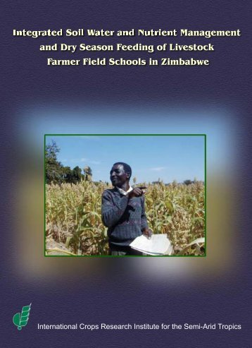 Integrated Soil Water and Nutrient Management and Dry ... - Icrisat